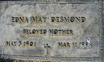 DESMOND, EDNA MAY - Mohave County, Arizona | EDNA MAY DESMOND - Arizona Gravestone Photos