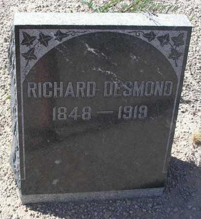 DESMOND, RICHARD - Mohave County, Arizona | RICHARD DESMOND - Arizona Gravestone Photos