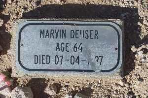 DEUSER, MARVIN - Mohave County, Arizona | MARVIN DEUSER - Arizona Gravestone Photos