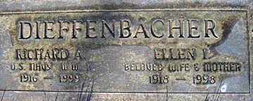 DIEFFENBACHER, RICHARD A - Mohave County, Arizona | RICHARD A DIEFFENBACHER - Arizona Gravestone Photos