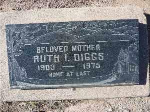 DIGGS, RUTH I - Mohave County, Arizona | RUTH I DIGGS - Arizona Gravestone Photos