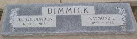 DUNDON DIMMICK, HATTIE - Mohave County, Arizona | HATTIE DUNDON DIMMICK - Arizona Gravestone Photos