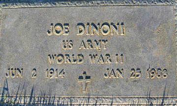 DINONI, JOE - Mohave County, Arizona | JOE DINONI - Arizona Gravestone Photos
