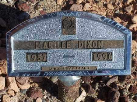 DIXON, MARILEE - Mohave County, Arizona | MARILEE DIXON - Arizona Gravestone Photos