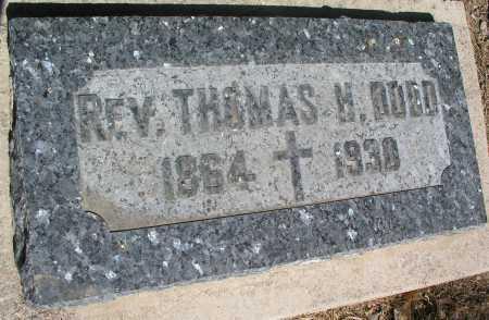 DODD, THOMAS H., REV. - Mohave County, Arizona   THOMAS H., REV. DODD - Arizona Gravestone Photos