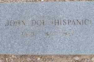DOE, JOHN (HISPANIC) - Mohave County, Arizona | JOHN (HISPANIC) DOE - Arizona Gravestone Photos