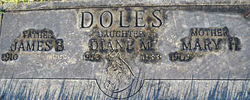 DOLES, JAMES B - Mohave County, Arizona   JAMES B DOLES - Arizona Gravestone Photos