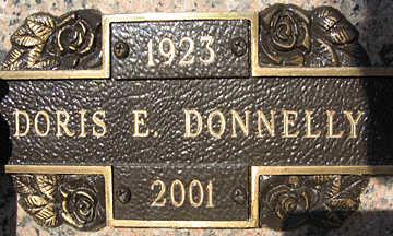 DONNELLY, DORIS E - Mohave County, Arizona   DORIS E DONNELLY - Arizona Gravestone Photos
