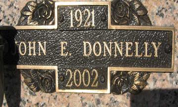 DONNELLY, JOHN E - Mohave County, Arizona | JOHN E DONNELLY - Arizona Gravestone Photos
