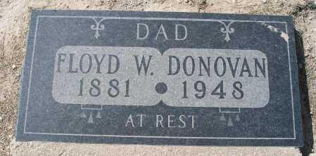 DONOVAN, FLOYD W. - Mohave County, Arizona | FLOYD W. DONOVAN - Arizona Gravestone Photos