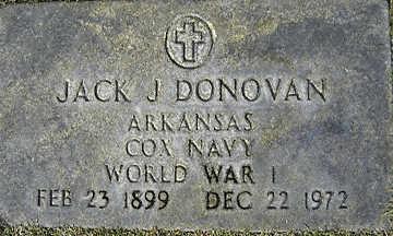 DONOVAN, JACK J - Mohave County, Arizona | JACK J DONOVAN - Arizona Gravestone Photos