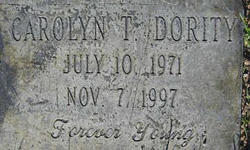 DORITY, CAROLYN T - Mohave County, Arizona | CAROLYN T DORITY - Arizona Gravestone Photos