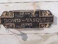 DOWD-VASQUEZ, SHAWN - Mohave County, Arizona | SHAWN DOWD-VASQUEZ - Arizona Gravestone Photos