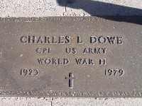 DOWE, CHARLES L - Mohave County, Arizona   CHARLES L DOWE - Arizona Gravestone Photos
