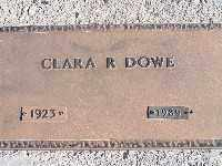DOWE, CLARA R - Mohave County, Arizona | CLARA R DOWE - Arizona Gravestone Photos