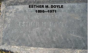DOYLE, ESTHER MAY - Mohave County, Arizona | ESTHER MAY DOYLE - Arizona Gravestone Photos