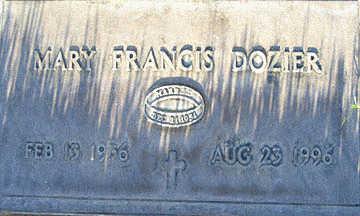 DOZIER, MARY FRANCIS - Mohave County, Arizona | MARY FRANCIS DOZIER - Arizona Gravestone Photos