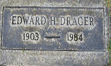 DRAGER, EDWARD H - Mohave County, Arizona   EDWARD H DRAGER - Arizona Gravestone Photos
