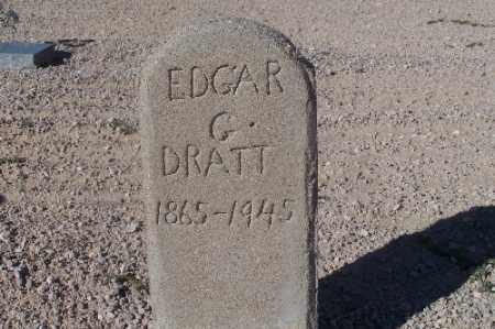 DRATT, EDGAR G - Mohave County, Arizona | EDGAR G DRATT - Arizona Gravestone Photos