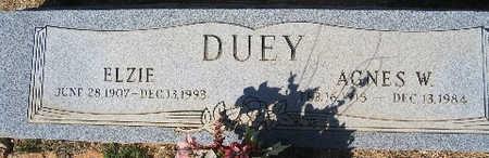 DUEY, ELZIE - Mohave County, Arizona   ELZIE DUEY - Arizona Gravestone Photos