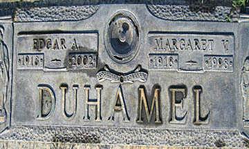 DUHAMEL, MARGARET V - Mohave County, Arizona | MARGARET V DUHAMEL - Arizona Gravestone Photos