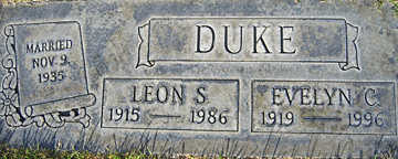 DUKE, LEON S - Mohave County, Arizona | LEON S DUKE - Arizona Gravestone Photos