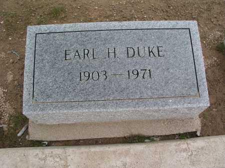 DUKE, EARL H. - Mohave County, Arizona | EARL H. DUKE - Arizona Gravestone Photos