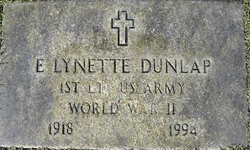 DUNLAP, E. LYNETTE - Mohave County, Arizona | E. LYNETTE DUNLAP - Arizona Gravestone Photos