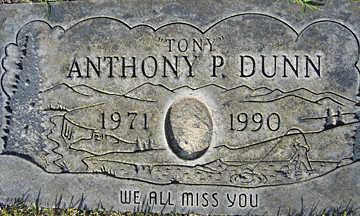 DUNN, ANTHONY - Mohave County, Arizona | ANTHONY DUNN - Arizona Gravestone Photos