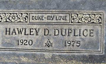 DUPLICE, HAWLEY DEAN - Mohave County, Arizona | HAWLEY DEAN DUPLICE - Arizona Gravestone Photos