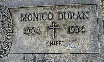 DURAN, MONICO - Mohave County, Arizona | MONICO DURAN - Arizona Gravestone Photos