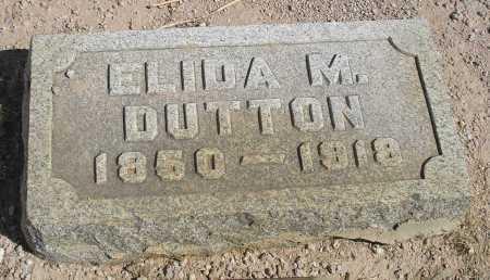 DUTTON, ELIDA M. - Mohave County, Arizona | ELIDA M. DUTTON - Arizona Gravestone Photos