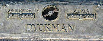 DYCKMAN, LAWRENCE W - Mohave County, Arizona   LAWRENCE W DYCKMAN - Arizona Gravestone Photos
