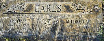 EARLS, LEEVIE S - Mohave County, Arizona | LEEVIE S EARLS - Arizona Gravestone Photos