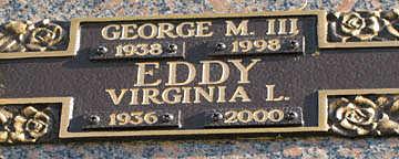 EDDY III, GEORGE M - Mohave County, Arizona   GEORGE M EDDY III - Arizona Gravestone Photos