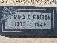 EDISON, EMMA C - Mohave County, Arizona   EMMA C EDISON - Arizona Gravestone Photos