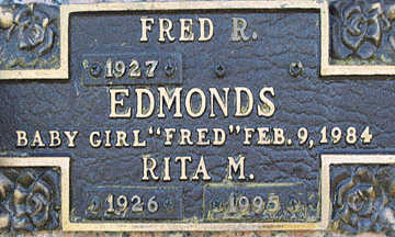 EDMONDS, BABY GIRL - Mohave County, Arizona | BABY GIRL EDMONDS - Arizona Gravestone Photos