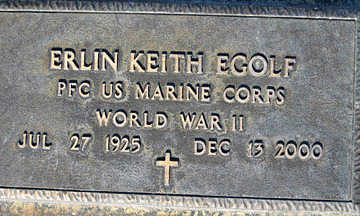 EGOLF, ERLIN KEITH - Mohave County, Arizona | ERLIN KEITH EGOLF - Arizona Gravestone Photos