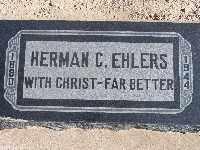 EHLERS, HERMAN GEORGE - Mohave County, Arizona | HERMAN GEORGE EHLERS - Arizona Gravestone Photos