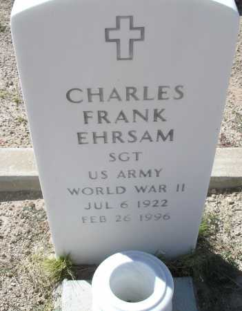 EHRSAM, CHARLES FRANK - Mohave County, Arizona | CHARLES FRANK EHRSAM - Arizona Gravestone Photos