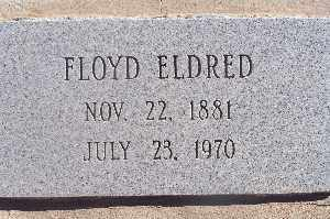 ELDRED, FLOYD - Mohave County, Arizona | FLOYD ELDRED - Arizona Gravestone Photos