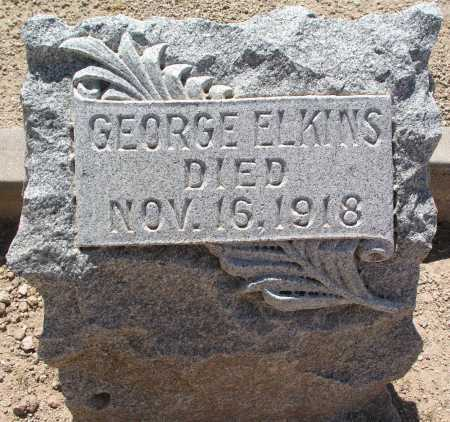 ELKINS, GEORGE - Mohave County, Arizona | GEORGE ELKINS - Arizona Gravestone Photos