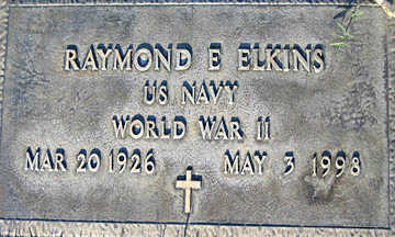 ELKINS, RAYMOND E - Mohave County, Arizona | RAYMOND E ELKINS - Arizona Gravestone Photos