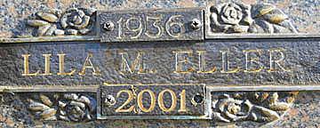 ELLER, LILA M - Mohave County, Arizona | LILA M ELLER - Arizona Gravestone Photos