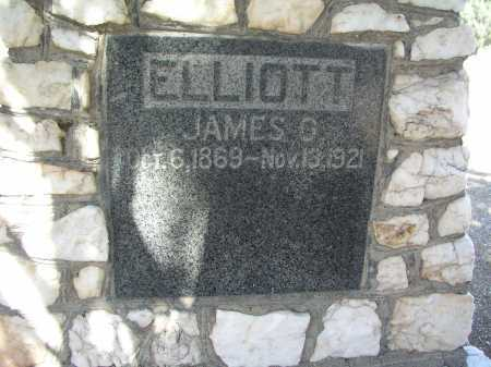 ELLIOT, JAMES O. - Mohave County, Arizona | JAMES O. ELLIOT - Arizona Gravestone Photos