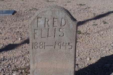 ELLIS, FRED - Mohave County, Arizona   FRED ELLIS - Arizona Gravestone Photos