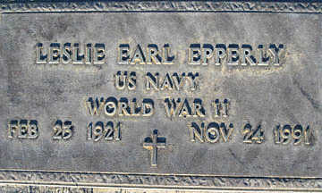 EPPERLY, LESLIE EARL - Mohave County, Arizona | LESLIE EARL EPPERLY - Arizona Gravestone Photos