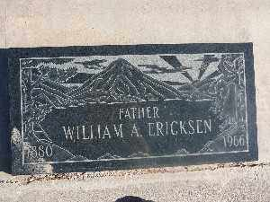 ERICKSEN, WILLIAM A - Mohave County, Arizona | WILLIAM A ERICKSEN - Arizona Gravestone Photos