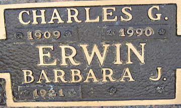 ERWIN, CHARLES G - Mohave County, Arizona | CHARLES G ERWIN - Arizona Gravestone Photos