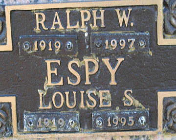 ESPY, RALPH W - Mohave County, Arizona | RALPH W ESPY - Arizona Gravestone Photos